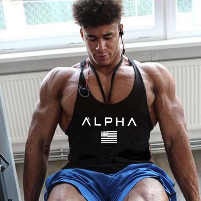 2018 summer Brand clothing Fitness Tank Top Men Stringer Golds Bodybuilding Muscle Shirt Workout Vest gyms Undershirt