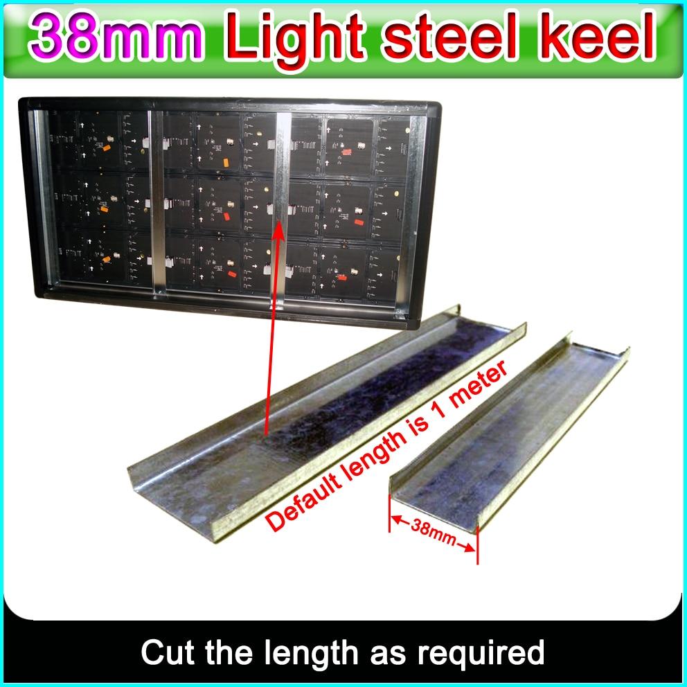 P10 P16 P20 LED Display Aluminum Frame Accessory Lightgage Steel Joist