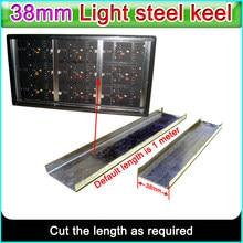 P10 P16 P20 wyświetlacz LED aluminium rama akcesoria lightgage niosący