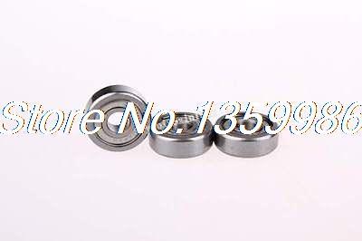 50 Pcs 604Z 4 x 12 x 4mm Shielded Miniature Ball Bearings50 Pcs 604Z 4 x 12 x 4mm Shielded Miniature Ball Bearings