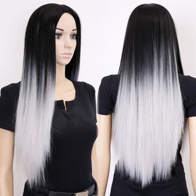 Cheveux long et noir