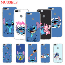 Stitchs Blue Cute Gift Protect Phone Case for Huawei Honor 8X 20 9 10 Lite 8A 10i 20i 8S V20 Y5 Y6 Y7 Y9 2019 Coque Cover Shell