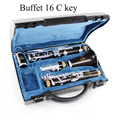 Buffet Clarinet 16 C Key Crampon Students Clarinet C flute Playing Clarinet Musical Instruments Silver Plated Keys Clarinete