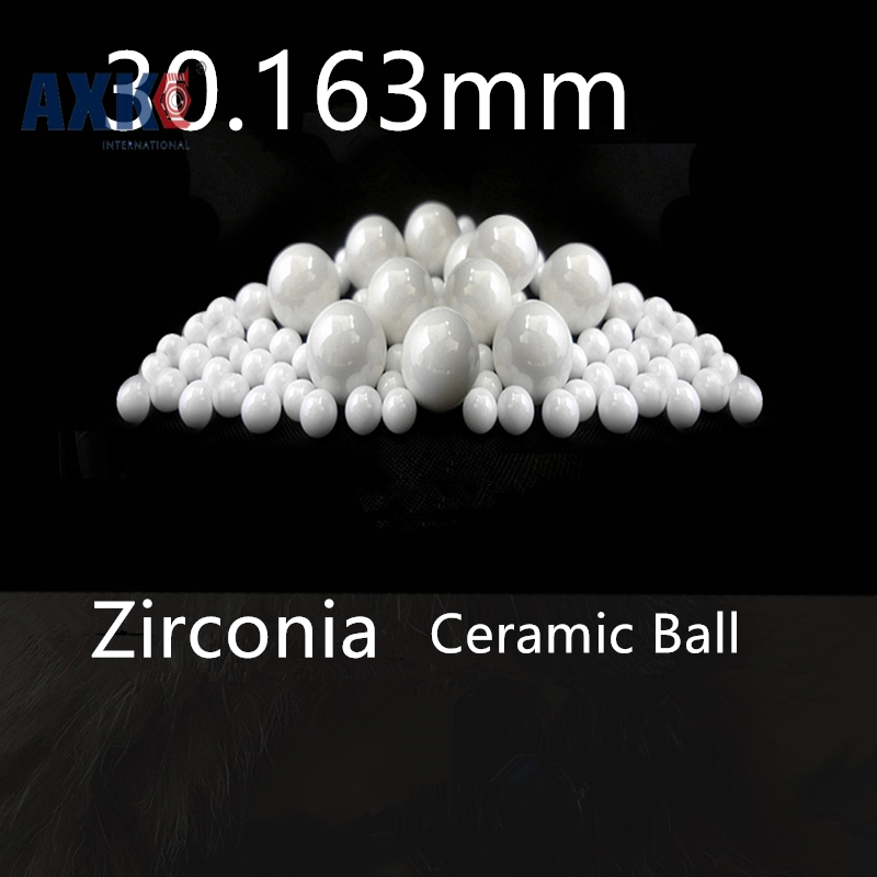 1 3/16=30.163mm Zirconia Ceramic Ball G40 ZrO2 valve ball/bearing/high pressure homogenizer/sprayer/pump 30.163mm ceramic ball