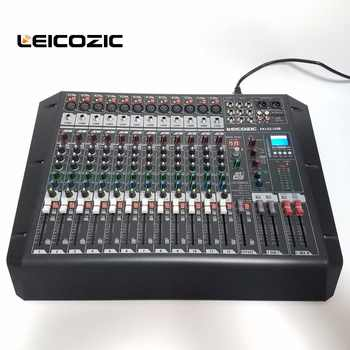 Leicozic Audio Mixer FX122-USB Rack Mount digital mixer DSP MP3 player with USB/SD card jack Audio digital processor mixer dj - DISCOUNT ITEM  0% OFF All Category