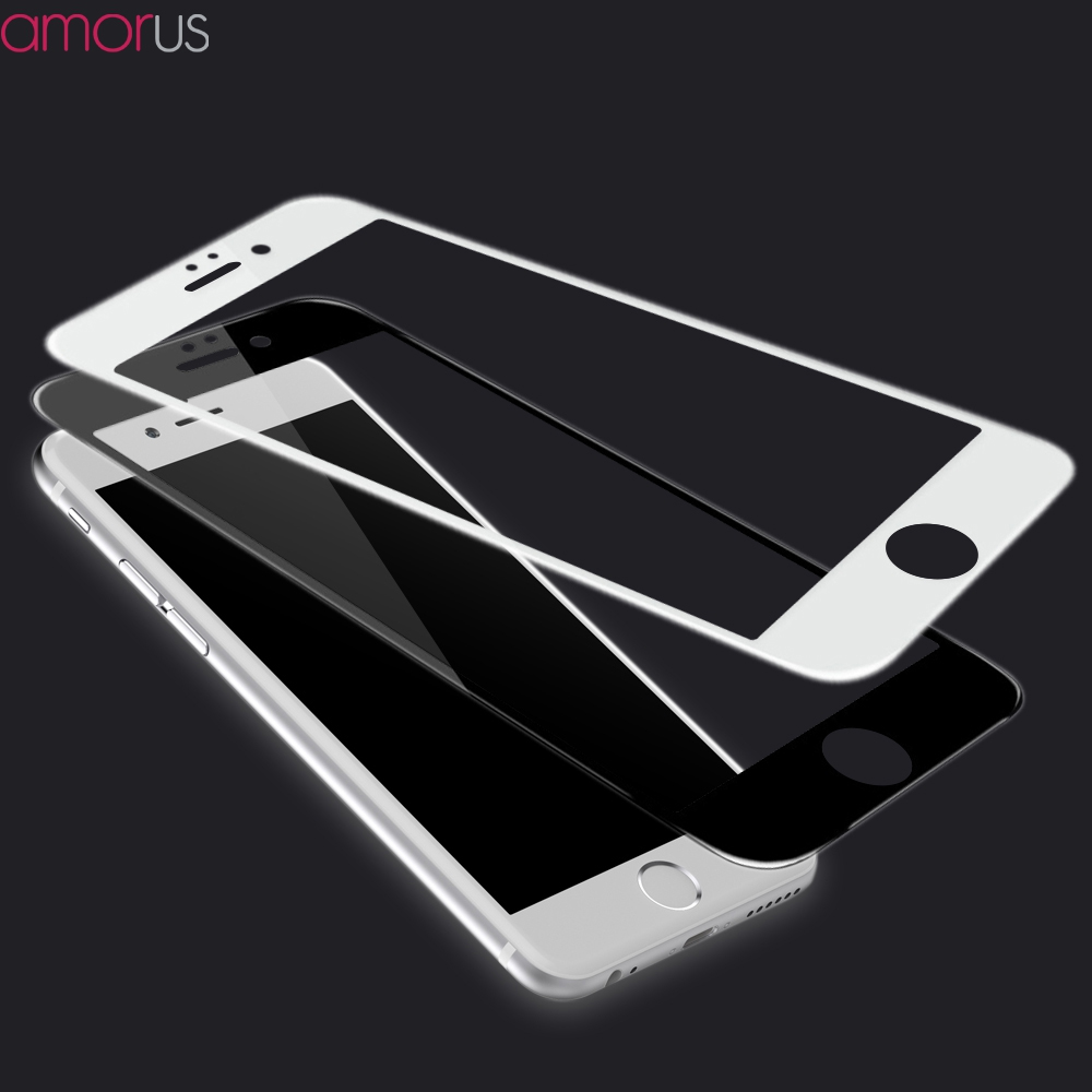<font><b>AMORUS</b></font> for iPhone 6 6s i6 <font><b>Complete</b></font> <font><b>Covering</b></font> Tempered Glass Full Screen Film <font><b>HD</b></font> 9H 3D <font><b>Curved</b></font> <font><b>Edge</b></font> for iPhone 8 7plus 8plus X i8