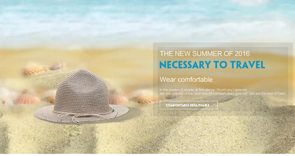 7eb70d34847 Holiday Wide Brim Hat Summer Style Color Seashell Accessories Green Beige  White Floppy Beach Sun Hats For Women 2016042210 u4