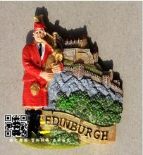 British Edinburgh tour souvenir refrigerator