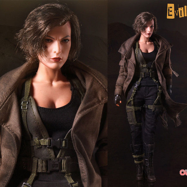 US $169 98 |Resident Evil: The Final Chapter Alice Collectible Action  Figure Soldier Set Toy Scale dolls Models Boys Gift-in Action & Toy Figures  from