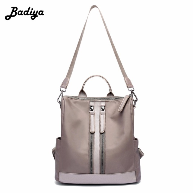 893274370396 US $36.86 |Fashion New Women Oxford Waterproof Backpack Travel Large  Capacity Zipper Bag Top Handle Women Bags Female Bolsa-in Backpacks from  Luggage ...