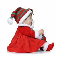 birthday gift for kid Cute Princess Doll With Christmas Clothes