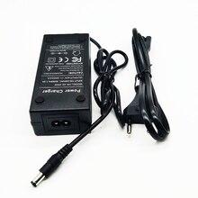 36 В 2A зарядное устройство 42 в 2A зарядное устройство Вход 240-100 В переменного тока литий-ионный Li-poly зарядное устройство для 10 серии 36 В Электрический велосипед