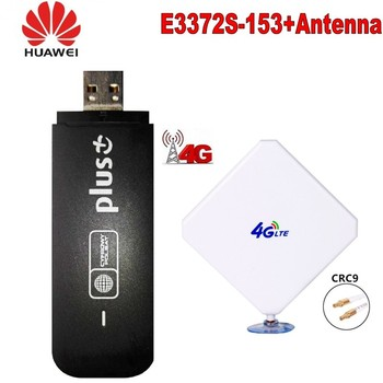 HUAWEI E3372s-153 LTE MOBILE DONGLE With 4g antenna