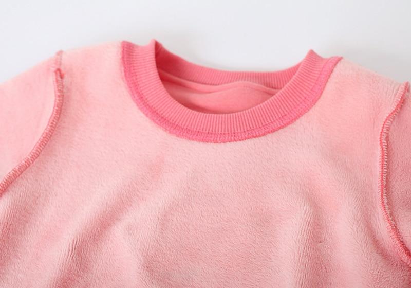 c0c0f5b6a7b 3-7 Years Girls Sweatshirts Baby Children Clothes Cotton flannel Thickened Boys  Girls Sweatshirt Jerry Kids ...