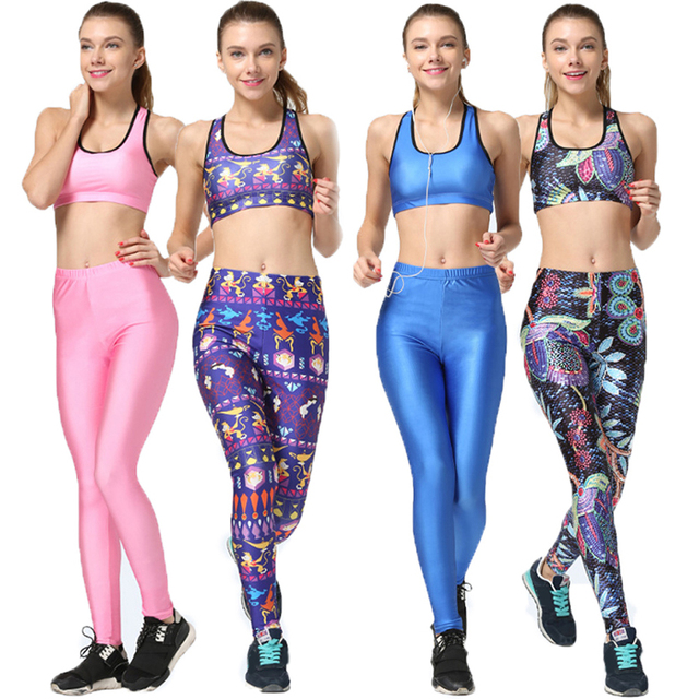 da78fbb3ac Lamp Of Aladdin Sports Running Set 2 Pcs Abstract Minimalist Fitness Gym  Women Clothing Candy Color Bra Tops Pants Tracksuit