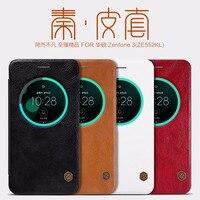 Nillkin QIN Series Leather Case For Asus Zenfone 3 ZE552KL ZE520KL Luxury Cover Case Use Fine