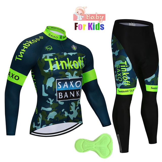 Kids Long Sleeve Cycling...