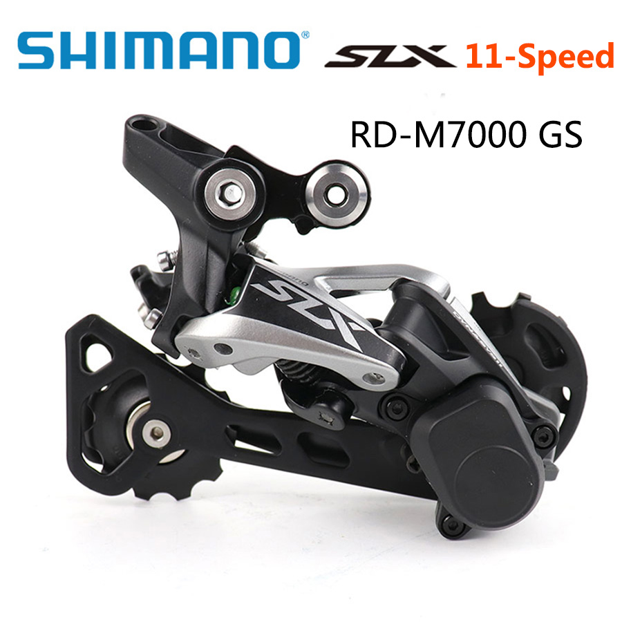 <font><b>SHIMANO</b></font> <font><b>SLX</b></font> RD <font><b>M7000</b></font> <font><b>11</b></font> Speed Rear Derailleur MTB Mountain bike derailleurs Shadow RD+ Middle Cage Rear Derailleur <font><b>M7000</b></font> GS image