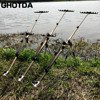 Adjustable Retractable Carp Fishing Rod Holder Fishing Pole Pod Fishing Tackle