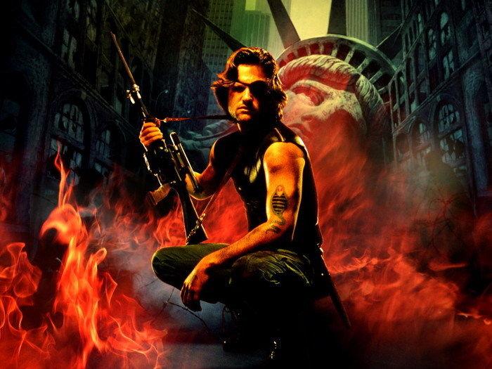 D1374 Snake Plissken Escape from New York Kurt Russell Movie-Print Silk Art Wall Poster(China)