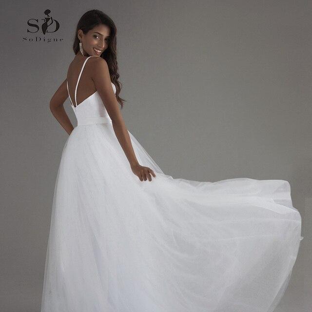 Vestido De Novia Playa Koronkowa Suknia ślubna Plaża Sweetheart