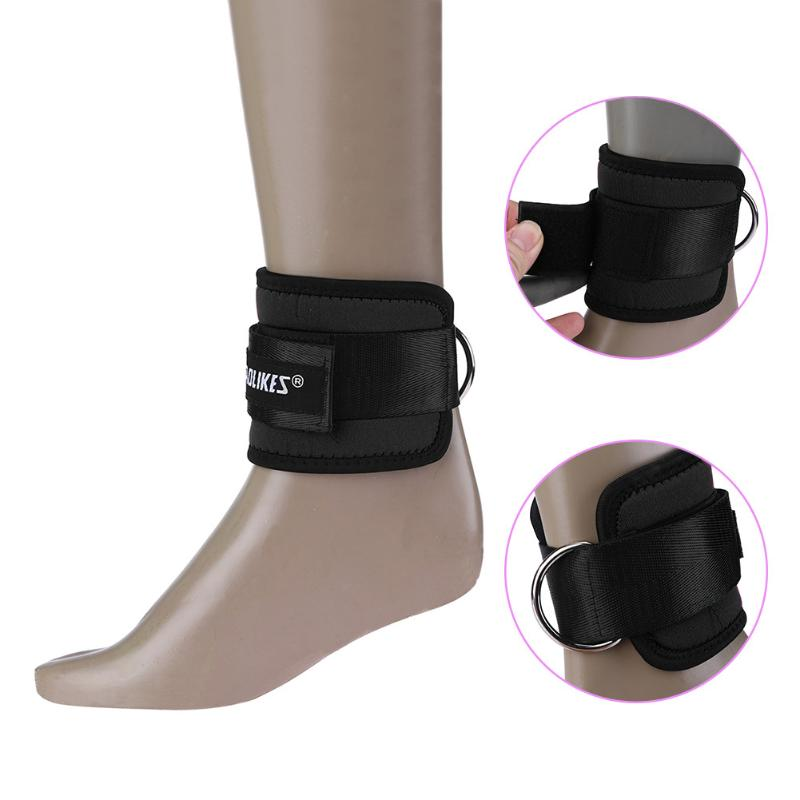 1pc font b Fitness b font Adjustable D Ring Ankle Strap Guard Foot Support Protector Gym