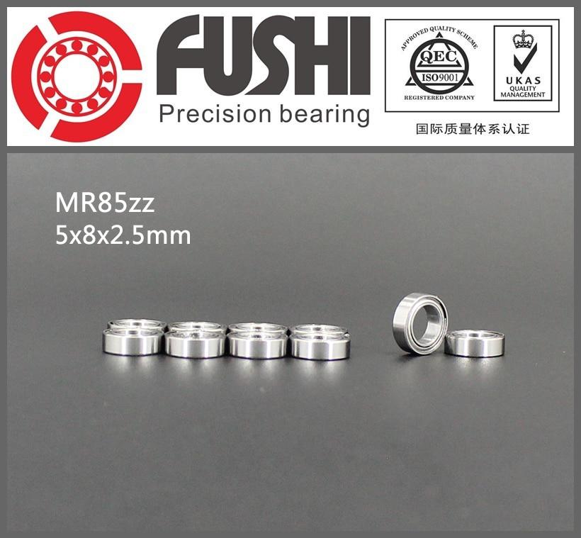 MR85ZZ Bearing ABEC-1 (10PCS) 5*8*2.5 mm Miniature MR85 ZZ Ball Bearings L-850ZZ MR85Z Rulman free shipping 10 pcs open type mr85 bearings 5x8x2 5 mm miniature ball bearings l 850 mr85