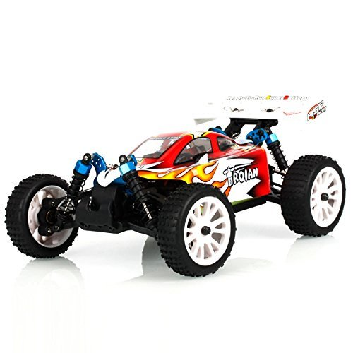HSP Rc Car 1/16 Scale 4wd Electric Power Remote Control Car 94185 Troian Off Road Buggy Just Like HIMOTO REDCAT Hobby Racing 02023 clutch bell double gears 19t 24t for rc hsp 1 10th 4wd on road off road car truck silver