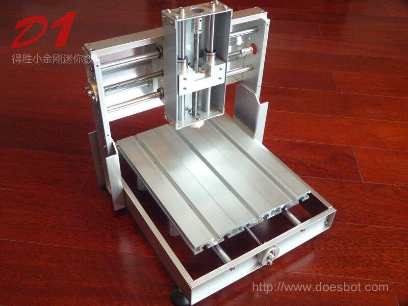 D1 все металлические гравировальный станок Гравировальный рама машины 3D принтер стойки лазерной гравировки рамы машины