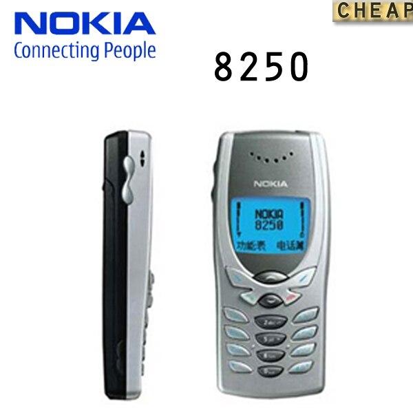 Цена за Оригинальный Nokia 8250 Mobile Сотовый Телефон 2 Г GSM 900/1800 Классический дешевый телефон Не Может использовать в Чили/Перу/Колумбия/аргентина