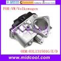 Nueva EGR Válvula de Escape de Gas de Retorno OE NO. 03L131501G, 03L131501E, 03L131501D para VW Volkswagen