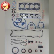 4D56 4D56T Двигателя Полная Прокладка комплект для Mitsubishi Montero/L200/L400/CANTER 2477CC 2.5TD 1986-2003 MD972215 MD997249 M126I37