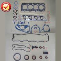 4D56 4D56T Engine Full Gasket Set kit for Mitsubishi Montero/L200/L400/CANTER 2477CC 2.5TD 1986-2003 MD972215 MD997249 M126I37