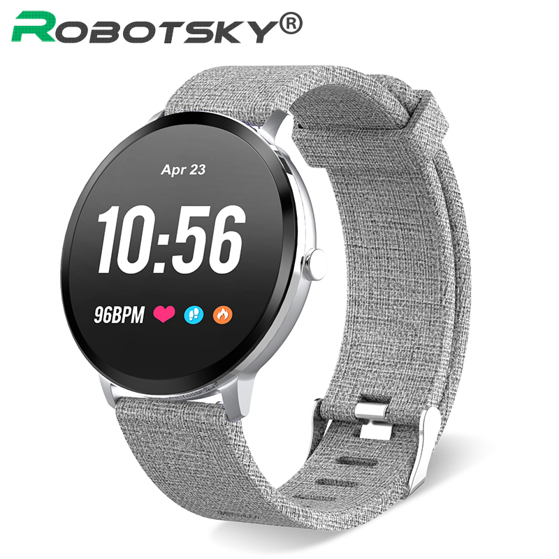 V11 Smart watch Tempered glass Activity Fitness tracker Heart rate Blood Pressure Oxygen monitor IP67 waterproof smartwatch недорого