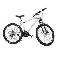 21 скорость 26 дюймов гоночный велосипед унисекс двойной дисковые тормоза горные велосипеды водонепроницаемый амортизатор Горный Велоспорт