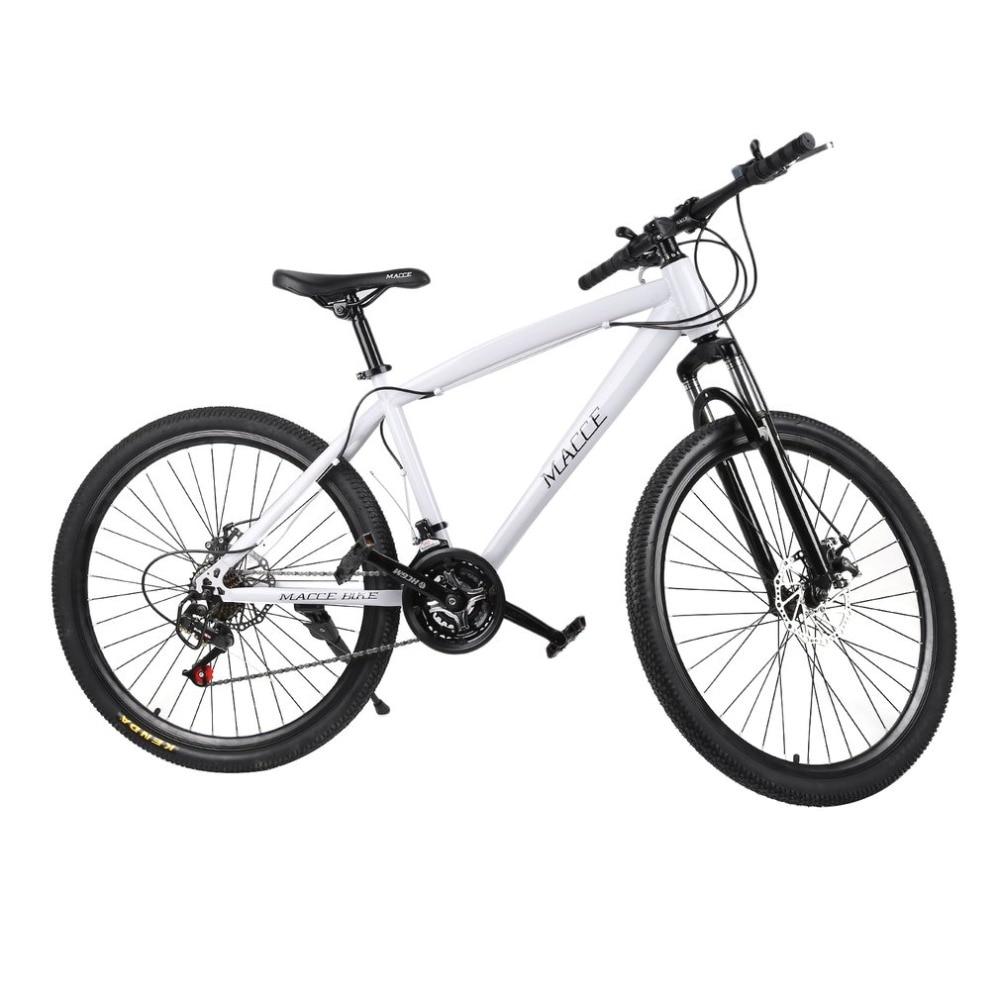 21 vitesses 26 pouces vélo de course unisexe Double freins à disque vélo de route de montagne étanche amortisseur vélo de montagne