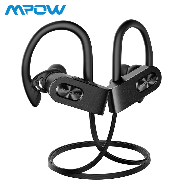 Mpow Flame 2 ipx7 Waterproof 13H Playback Bluetooth 5.0 Sports Earphone CVC6.0 Noise Cancelling For iPhone Samsung Huawei Xiaomi leaf village naruto headband