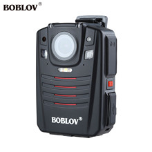 BOBLOV 1296P 64GB Audio Video Recorder 2.0inch LCD Night Vision 170 degree Wide Angle Portable Black GPS Remote Control Option