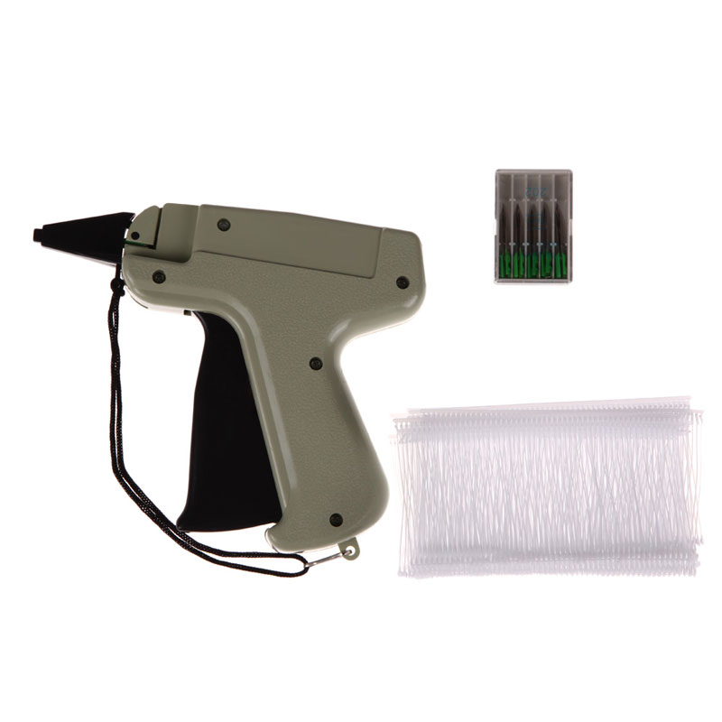 "Garment Price Label Tagging Clothes Tag Gun 3""1000 Barbs + 5 Needles Set Tool Pistola Etiquetadora Precio Art Craft Tooling"