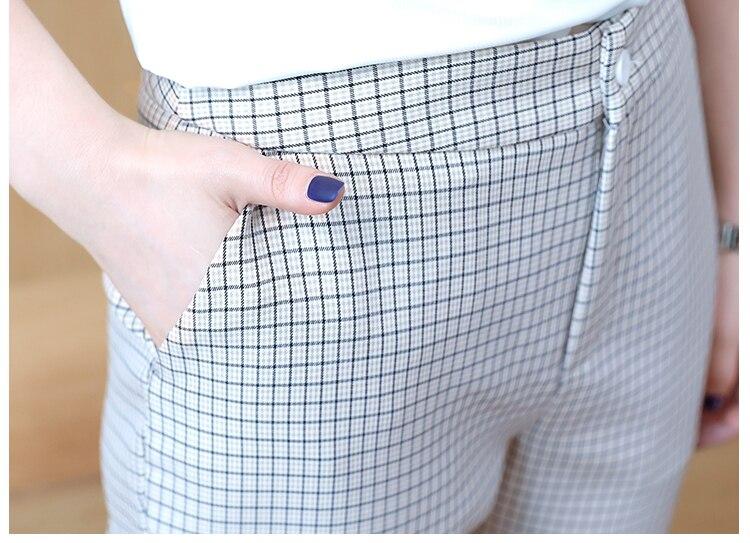 Pantalons Bureau Set vieux Top 2 Costume beige Plaid Année Automne Gris Ensemble Pantalon Dame Femme Survetement Femelle Pièce Et De Femmes ICw8nqfP