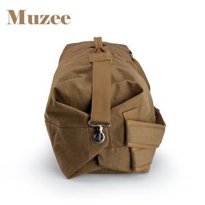 Image 4 - Muzee Huge Travel Bag Large Capacity Men backpack  Canvas Weekend Bags Multifunctional Travel Bags