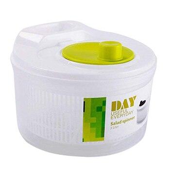 Salade Droger Groente Fruit Afvoer Mand Dehydrator Schudden Water Mand Multifunctionele Keuken Salade Gereedschap
