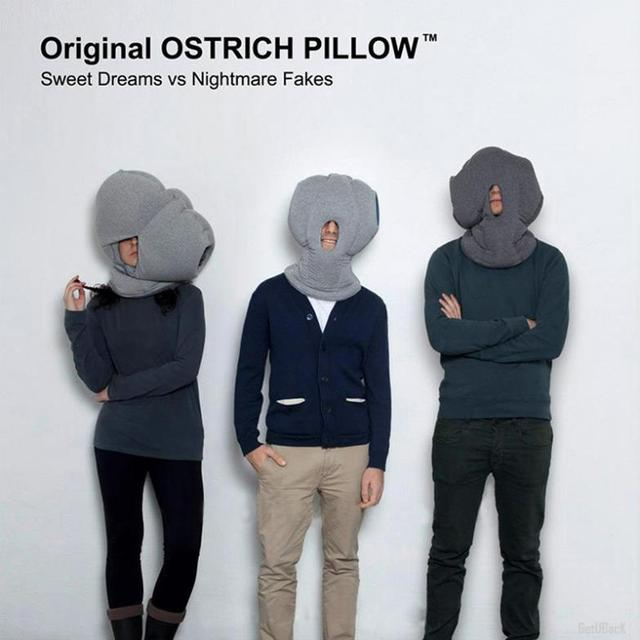Ostrich Pillow, A Soft Cocoon for Power Naps