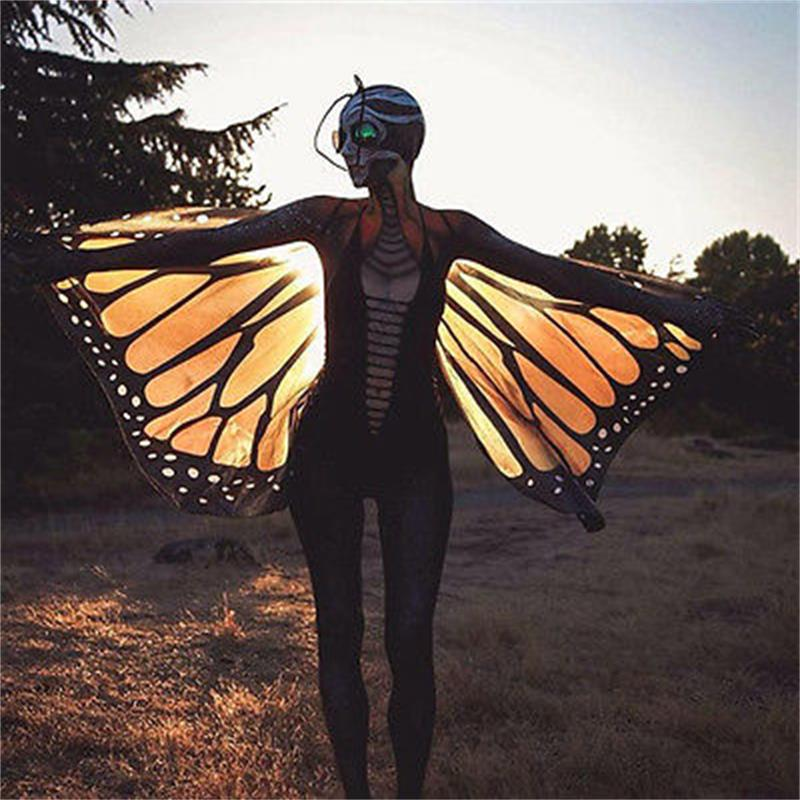Πολύχρωμο μαλακό ύφασμα φτερά - Αθλητικά είδη και αξεσουάρ - Φωτογραφία 3