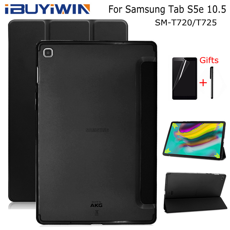 IBuyiWin Ultra-thin Smart PU Leather Cover For Samsung Galaxy Tab S5e 10.5 SM-T720/T725 10.5