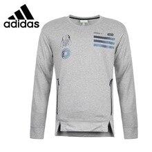 2c45935ed Oryginalny Nowy Przyjazd Adidas NEO Etykiety SW BLUZA męska Bluzy Koszulki  Sportowa(China)
