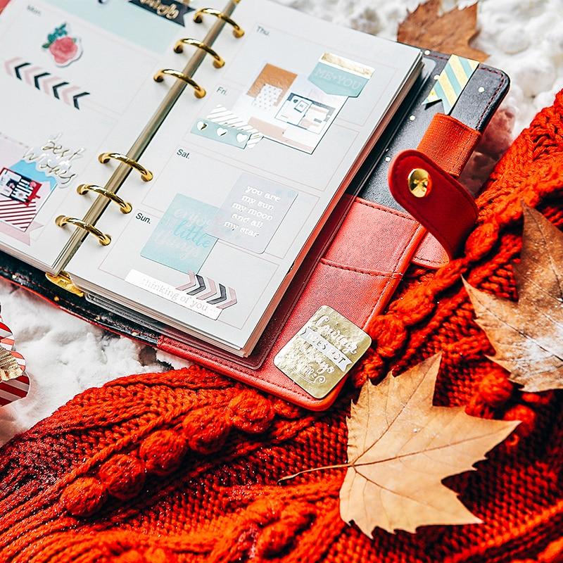 Cadernos papelaria a5a6a7 Design : Winter Series