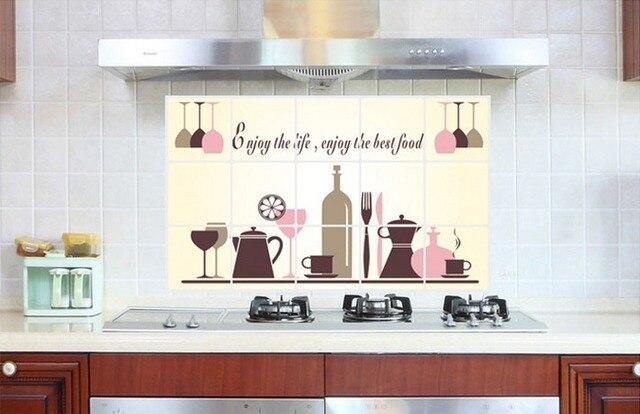 Bicchiere di vino tazza di caffè pentola da cucina adesivo sticker ...