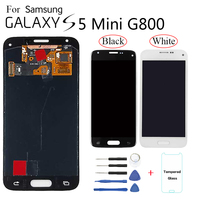 Para samsung s5 mini g800 SM-G800F display lcd substituição da tela para samsung galaxy s5 mini g800h g800m g800y display lcd módulo