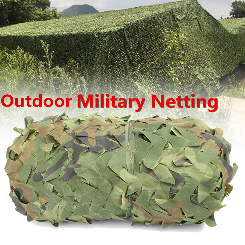 2X6 3X4 2X8 3X3 4X4 m Militaire Filets de Camouflage En Plein Air CS Jeux Cacher Maille Filet Plage Abri Du Soleil Couverture De Voiture Camouflage Filets